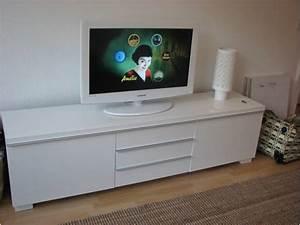 Ikea Meuble Télé : meuble tele blanc laque 1 meuble tv bas blanc laque ~ Melissatoandfro.com Idées de Décoration