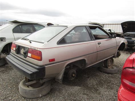 mitsubishi cordia junkyard find 1983 mitsubishi cordia the truth about cars