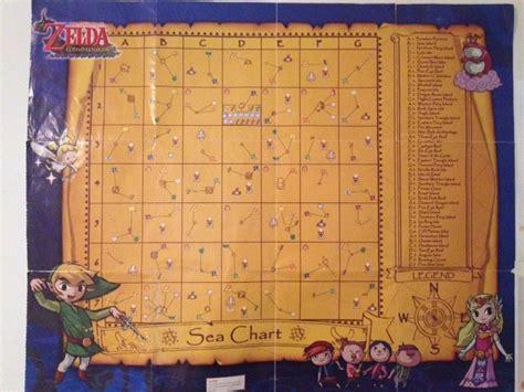 Legend Zelda Wind Waker Full Map on