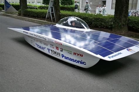 panasonic  supporting  tokai university solar car