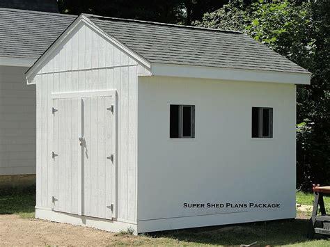 Custom Design Shed Plans, 10x12 Medium Salbox Barn