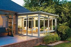 la veranda moderne80 idees chic et tendance With ordinary photo maison toit plat 9 en pierre moderne toit plat tendance
