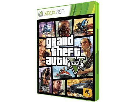 Grand Theft Auto V Gta 5 Em Português Mídia Física Xbox