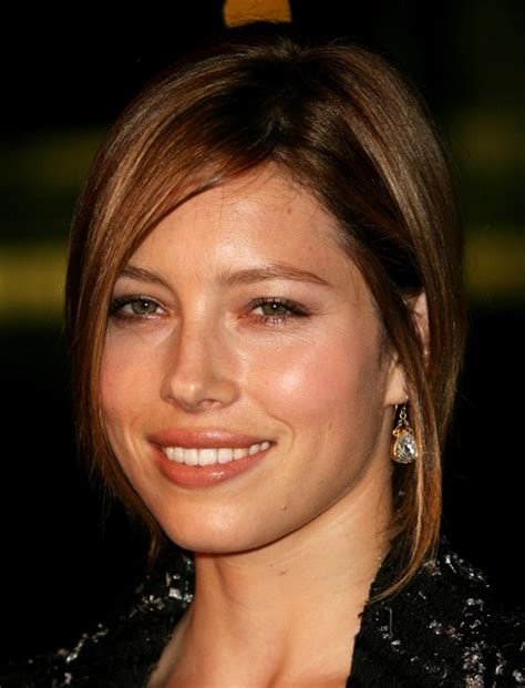 actress jessica of 7th heaven hairstyles of jessica biel film actress angled bob hairstyle