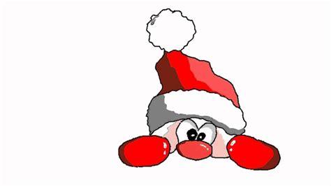 1 Weihnachtsmann , Wichtel Mit Ein Paar Strichen Und