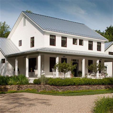 white farmhouse exterior farmhouse exterior white siding gray tin roof exteriors pinterest white siding tins