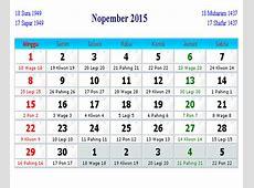 Kalender 2015 12Bulan + Hari Libur Nasional + Cuti Bersama