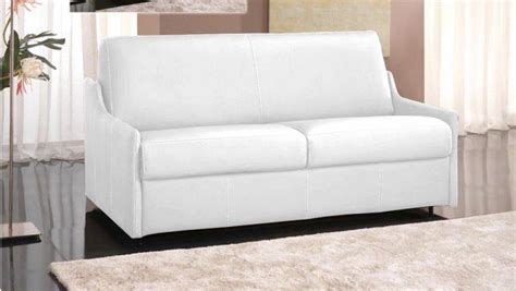 canape cuir rapido canape convertible rapido cuir recycle blanc couchage