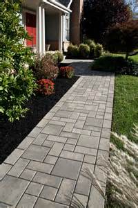 Square Paver Walkway Ideas