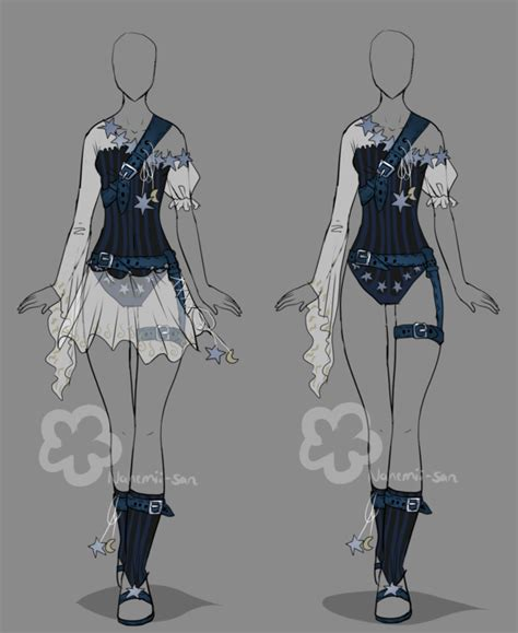Fantasy Outfit - closed by Nahemii-san on DeviantArt
