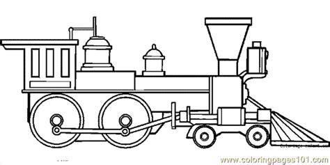 Train Coloring Page 23 Coloring Page