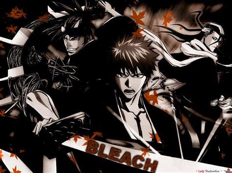 bleach guys bleach anime wallpaper  fanpop