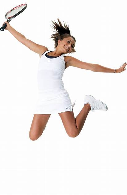Tennis Transparent Player Background Woman Ball Racket