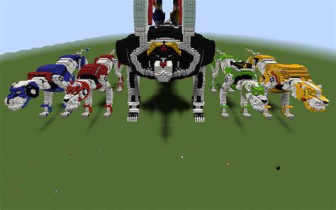 voltron legendary defenders lions   minecraft project