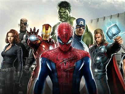 Marvel Avengers Wallpapers Border Wall Spiderman Backgrounds