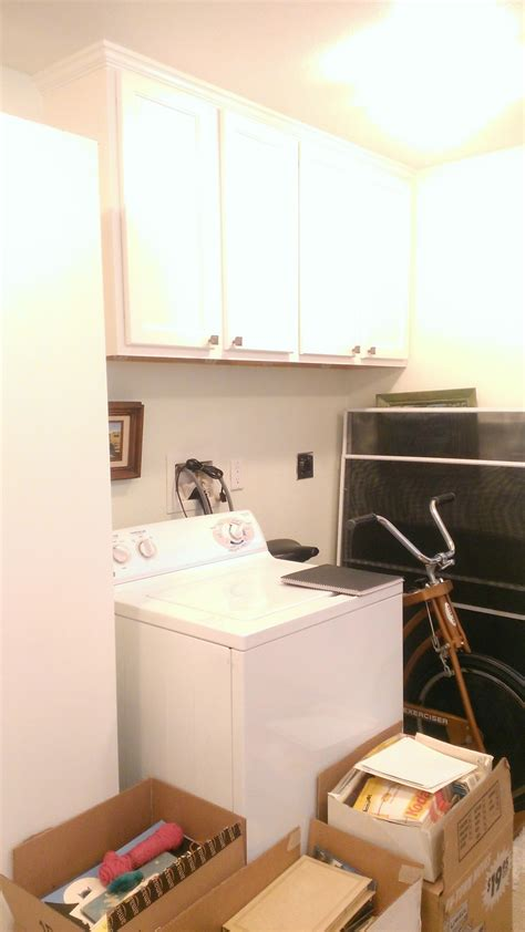 custom cabinetry sending  laundry room   wash
