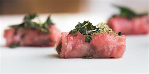 beef carpaccio canapé recipe great chefs