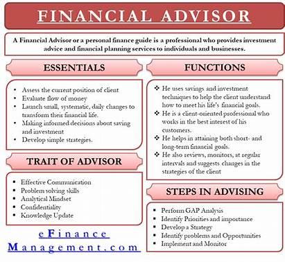 Financial Advisor Types Analysis Statements Efinancemanagement Investment
