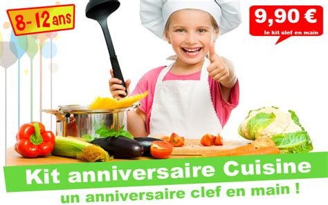 anniversaire cuisine kit anniversaire top cuistot panique en cuisine 8 12