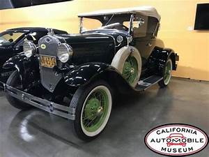 1930 Ford Model A Roadster Convertible Rumble Seat For