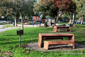 BBQ Pits & Picnic Tables at Woodbine Park - Los Angeles