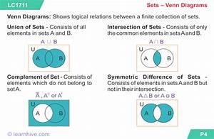Venn Diagrams  Union  And Intersections  U2013 Sir M Academy