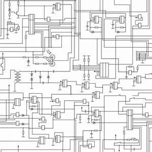 Seamless Electrical Circuit Diagram Pattern  U2014 Stock Vector
