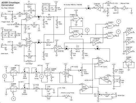mfos adsr  version diy  modular synthesizer