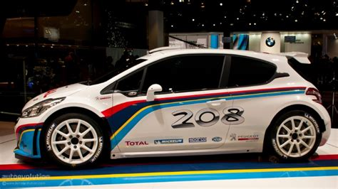 Peugeot 208 Type R5 Rally Car [live Photos