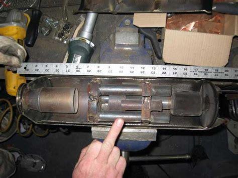 interieur pot echappement moto a l interieur d un pot d origine