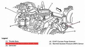 Where Is The Egr Located On 1999 Chev Tahoe And What Does