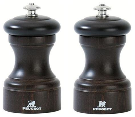 Peugeot Salt And Pepper by Peugeot Bistro 4 Quot Chocolate Salt And Pepper Mill