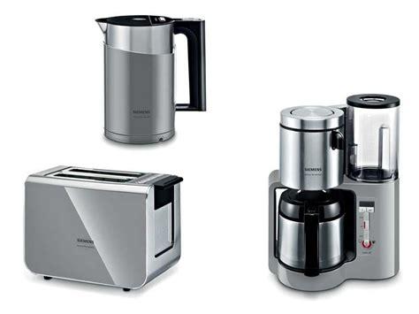 set kaffeemaschine toaster wasserkocher siemens fr 252 hst 252 cks set grau wasserkocher kaffeemaschine toaster ebay