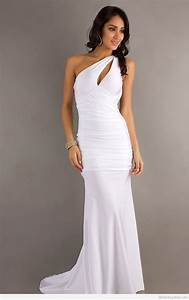 White beautiful prom dress tumblr