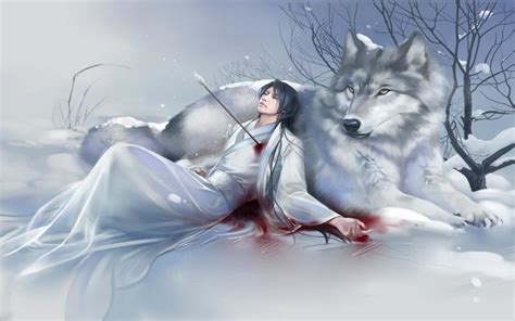 Wolf Anime Wallpapers - anime wolf wallpaper 183