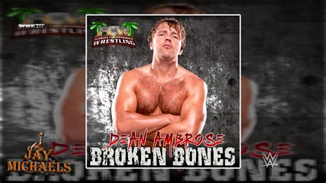 Broken Bones (dean Ambrose) By Unknown Artist
