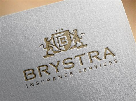 insurance company logo design spellbrand