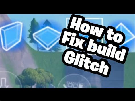 fix fortnite mobile buildshoot glitch fortnite