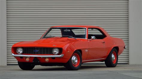 Two 1969 Chevrolet Camaro Zl1 Ultra-rare Muscle Cars Are