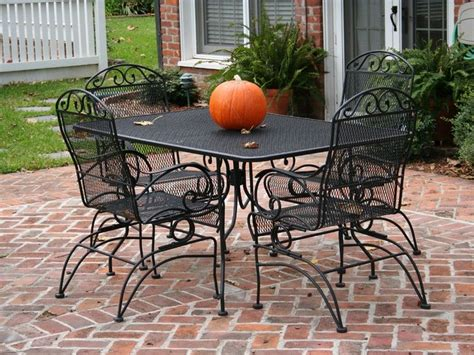Metal Outdoor Furniture by Wrought Iron Patio Furniture Lowes Lowes Patio Furniture