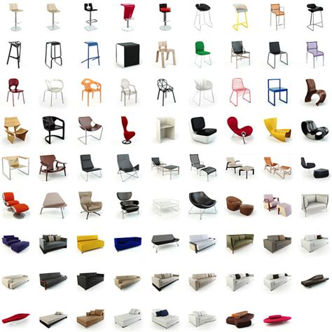 evermotion archmodels  models  modern seating