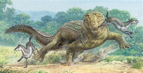 prehistoric extinct mammals animals pristichampsus crocodile dinosaurs dinosaur reptiles early extinction predators reptile long land crocodiles snakes giant jurassic theory