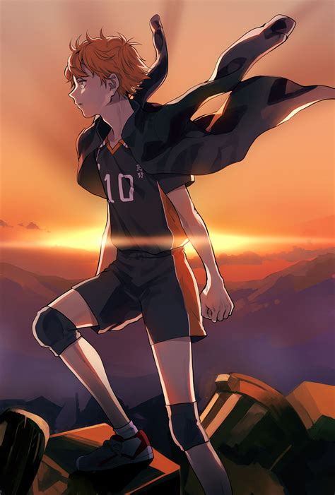 hinata shouyou haikyuu mobile wallpaper