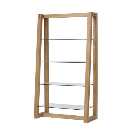 Glass Bookcase Shelves by Royale Bookcase With Glass Shelves Glasswells