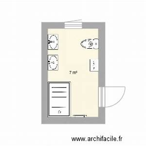 Plan Salle De Bain 7m2 : salle de bains 7m2 plan 1 pi ce 7 m2 dessin par elizabeth0312 ~ Dode.kayakingforconservation.com Idées de Décoration