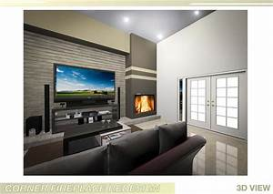 Design ideas for small living room with fireplace trendy for Small living room design ideas software