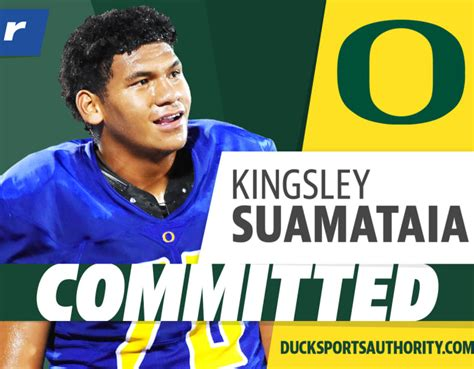 Pac-12 power lands four-star OL Kingsley Suamataia ...