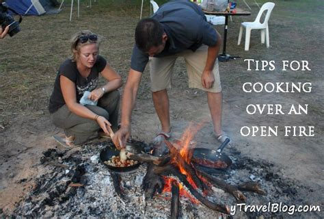 cooking fire open campfire tips recipes food camping camp cook go