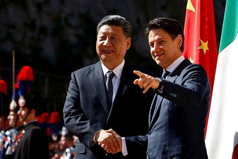 After talks with italian prime minister giuseppe conte and di maio in the morning, xi flew to the sicilian city palermo for a private visit on saturday afternoon. Europe must abandon muddled thinking about China