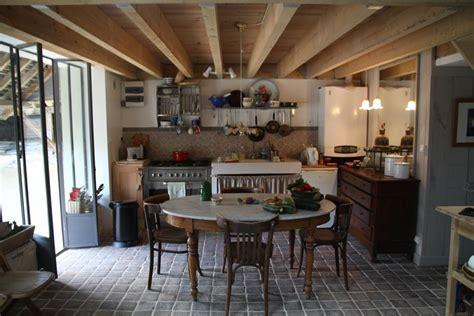 grange cuisine photo carrelage et grange amenagee loft déco photo deco fr